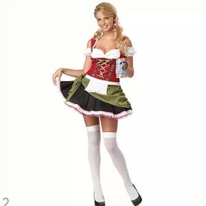Oktoberfest Dirndl Bar Maid Costume